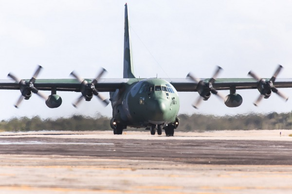 Cinco aeronaves da FAB estão envolvidas na operação de apoio ao Ministério da Justiça