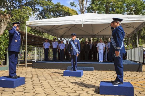 Durante a solenidade, Tenente-Brigadeiro Machado assumiu a presidência do Comitê e o comando do COMDABRA