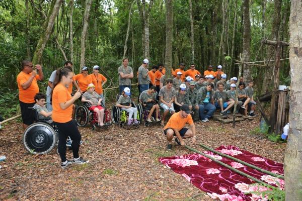 Oficinas foram realizadas ao longo da trilha