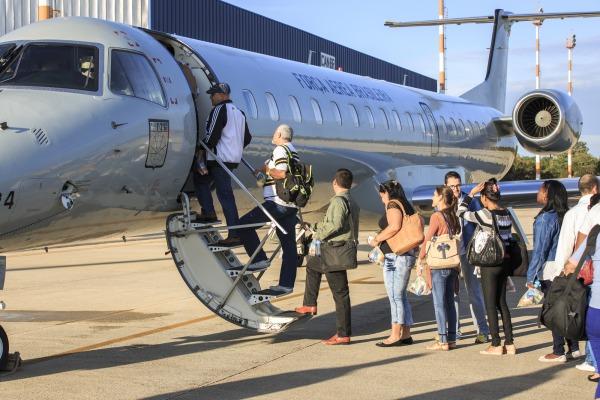 As aeronaves decolam de Brasília com destino as capitais do Norte e Nordeste; logística até os municípios conta com apoio da Marinha e do Exército