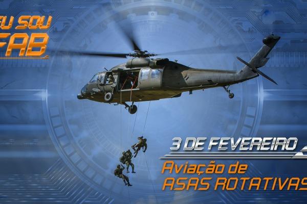 Esquadrões de helicóptero celebram a data na próxima sexta-feira, 03/02