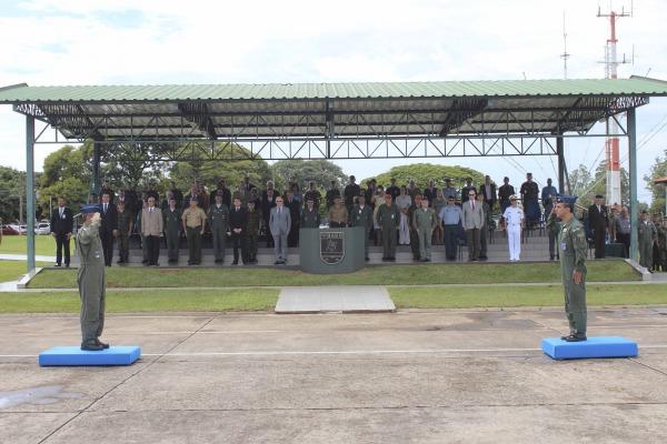 Solenidade marcou a assunção do Coronel Aviador Daniel Cavalcanti de Mendonça ao cargo de comandante da nova unidade