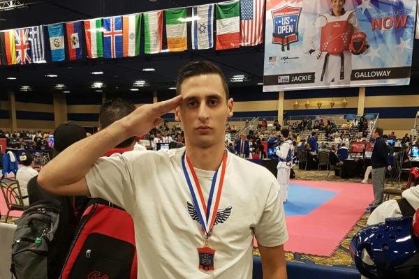 Sargento Chaves se destacou e garantiu medalha de bronze na categoria até 87 kg