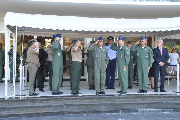 Na cerimônia também houve a desativação oficial da Base Aérea de Recife (BARF)