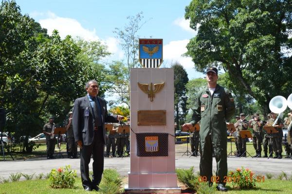 Na ocasião, foi realizada também a passagem de comando da organização militar