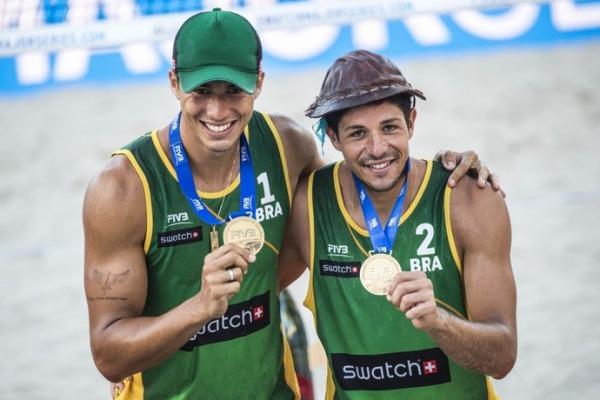 Sargento Saymon Barbosa participou da primeira etapa do Circuito Mundial de Vôlei de Praia