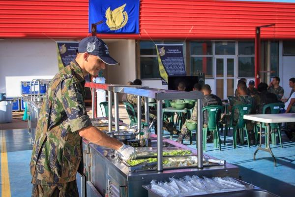 Intendência operacional apoia militares em Vitória