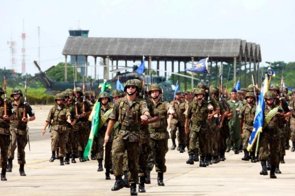 A cerimônia militar foi presidida pelo Comandante de Preparo, Tenente-Brigadeiro do Ar Antonio Carlos Egito do Amaral