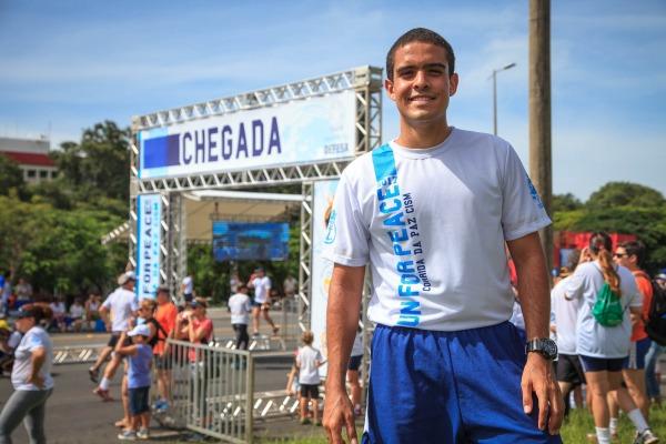 Sargento Bernardo, atleta de alto rendimento da FAB
