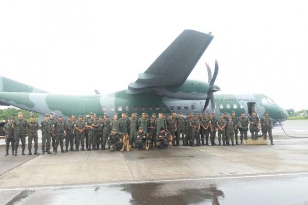 Missão solicitada pelo Ministério da Defesa foi cumprida por militares da Ala 8