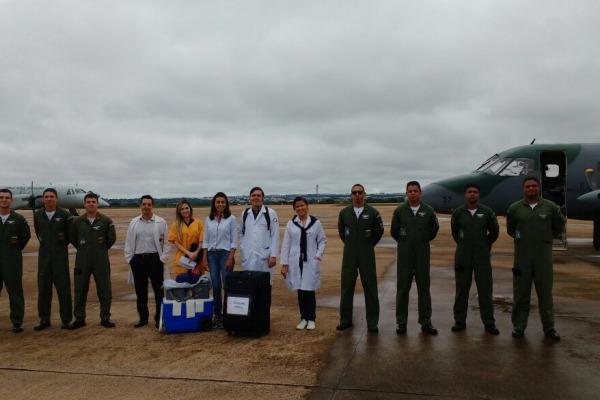 O coração e o fígado de um doador foram transportados de Rondonópolis (MT) para Brasília (DF)