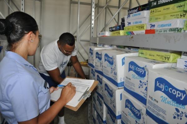 Grupamento de Apoio do Galeão gerencia estoque de 23 unidades e comemora a redução de custos e a oferta de serviço de alto nível