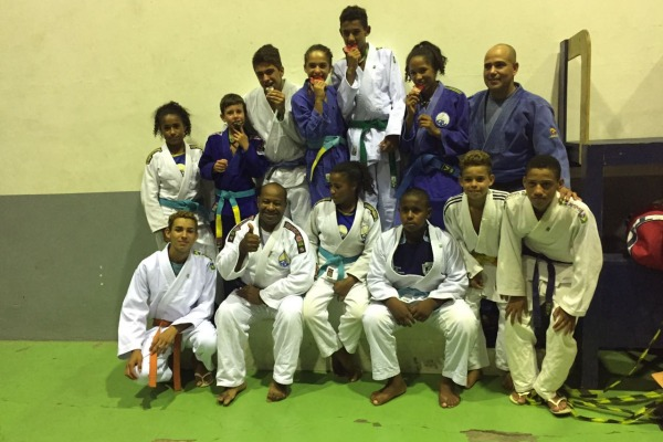 Equipe do Projeto que disputou a seletiva