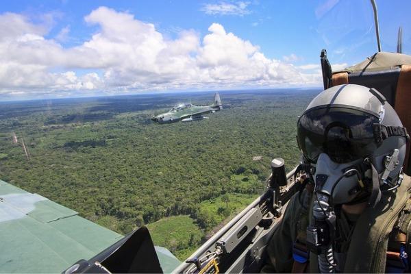Atividade de defesa aérea será intensificada na região de fronteira com a Bolívia e o Paraguai