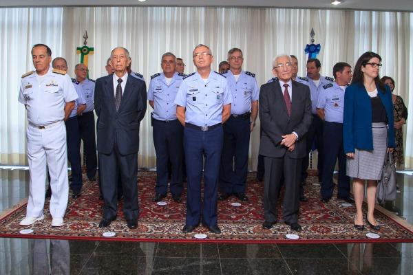 Diversas autoridades participaram da cerimônia