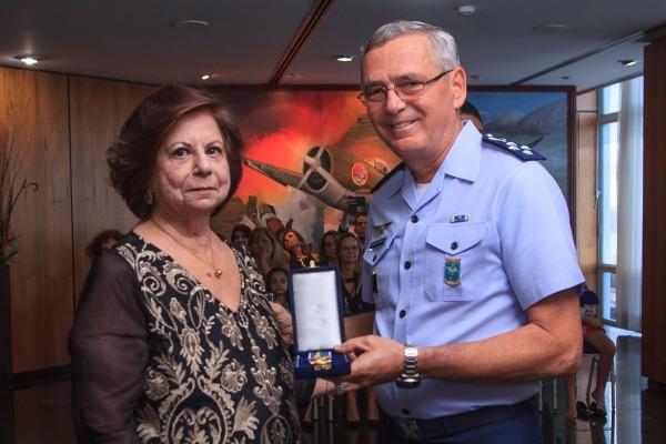 A doutora Jurema Nunes foi homenageada