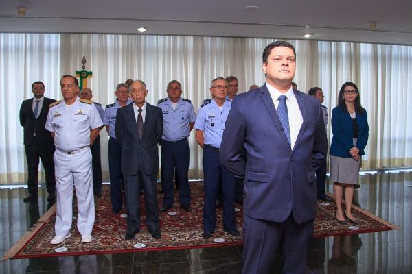 Durante a cerimônia, a ex-Consultora Jurídica foi homenageada
