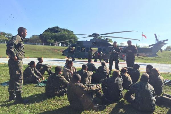 Iniciativa conjunta do Esquadrão Puma  e HFAG padroniza procedimentos para Evacuação Aeromédica