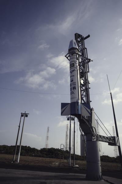 Foguete VS-40 equipado com satélite SARA