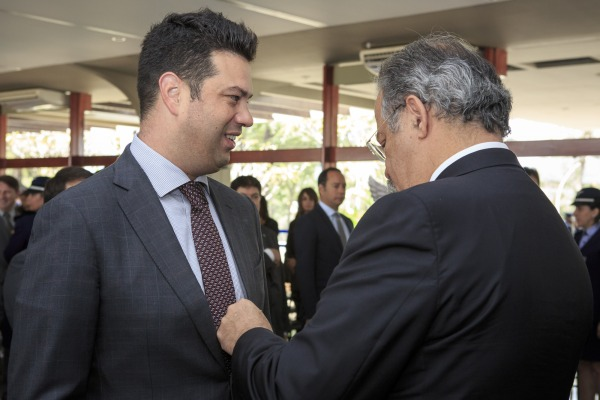 Ministro do Esporte foi um dos homenageados