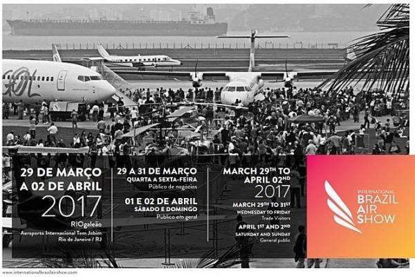 A International Brazil Air Show vai concentrar autoridades e representantes dos principais setores da aviação nacional e internacional