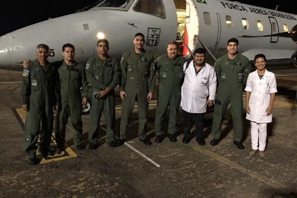 Fígado foi levado de Manaus (AM) para Rio Branco (AC)