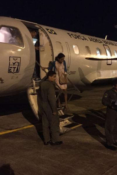 7� ETA transportou duas pacientes de Tabatinga para Manaus