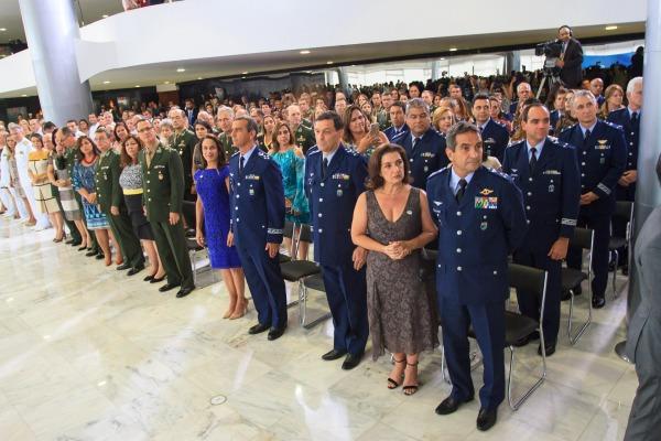 Michel Temer destacou profissionalismo e dedicação dos militares das Forças Armadas
