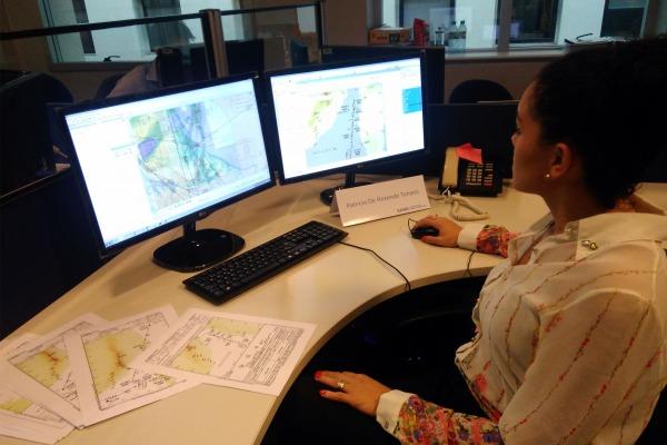 Brasil coopera com Argentina na produção de cartas de navegação