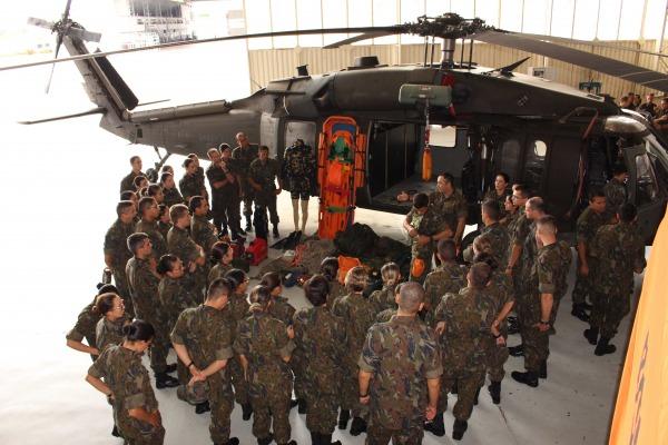 91 futuros oficiais de diversas áreas passaram quatro dias em Manaus