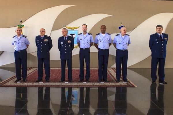 A cerimônia foi presidida pelo Comandante da Aeronáutica