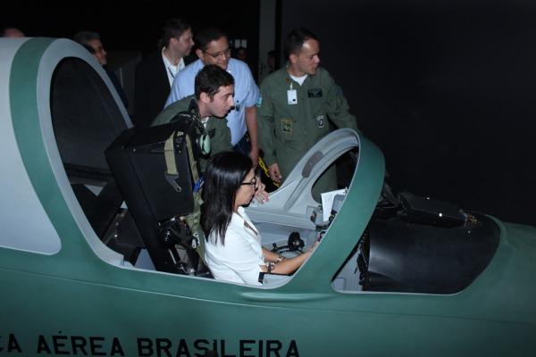 Visita técnica foi organizada pela Secretaria de Economia, Finanças e Administração da Aeronáutica