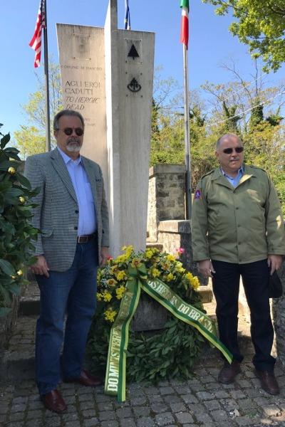 Ministros homenageiam piloto brasileiro morto em combate