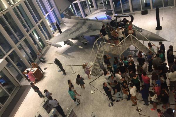 Os visitantes também tiveram a oportunidade de conhecer o trabalho da instituição e as formas de ingresso na Aeronáutica