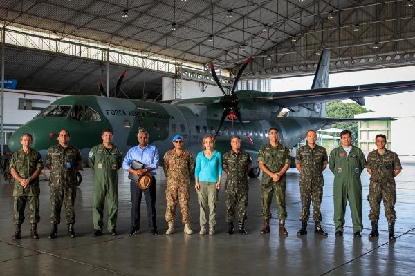 Aeronave que já participou de missões internacionais no Chile e Equador poderá ser empregada em missões de paz