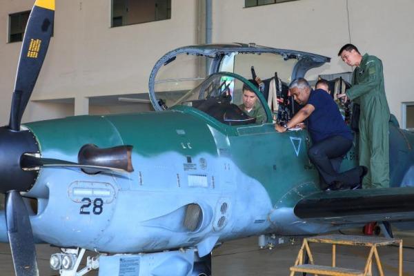 Representantes da ONU conheceram como é a atuação dos caças em missões de defesa aérea