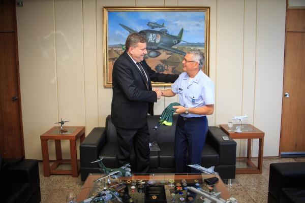 Prefeito Luciano Buligon destacou o emprego de aeronave para o traslado dos corpos