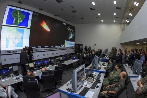 Lançamento aconteceu às 18h51min desta quinta-feira a partir do Centro Espacial de Kourou
