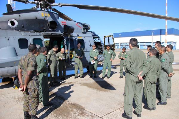 Meios aéreos das três Forças poderão se comunicar de forma segura em operações