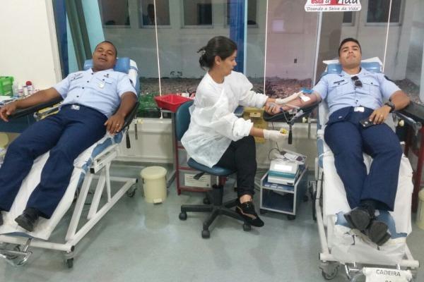 Mais de 90 militares aderem à ação em apoio ao Hemocentro de Roraima