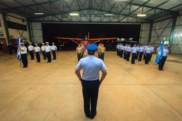 Atletas disputam vaga para representar o Brasil no 41º Campeonato Mundial Militar de Paraquedismo na Alemanha