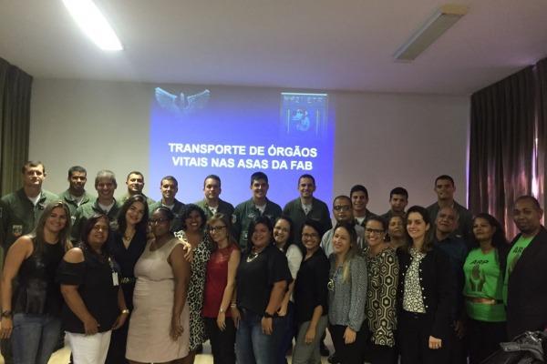 Evento celebrou parceria entre a FAB e a Central Estadual de Transplantes de Pernambuco