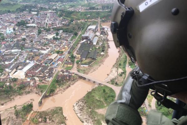 No terceiro dia de missão, cinco municípios já foram atendidos pela FAB