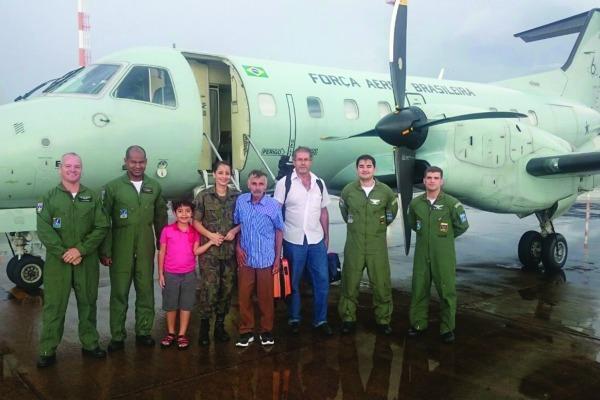 Aeronaves da FAB ajudam a integrar o território nacional