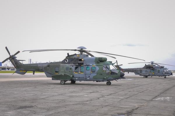 FAB e Marinha disponibilizam aeronaves; Exército disponibilizou hospital de campanha