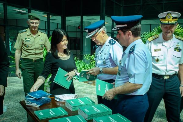 No discurso de lançamento, Jungmann anunciou futuro decreto em proteção às áreas militares