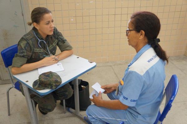 Atendimento de clínica médica