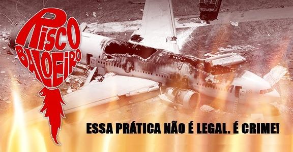 Balões colocam em risco a segurança aérea brasileira