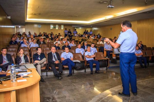 No total, 130 pessoas participaram da instrução em Brasília