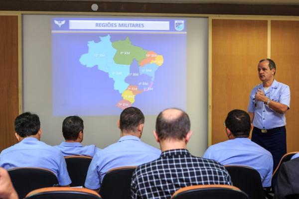 Palestras sobre a nova estrutura da DIRAP marcaram o Primeiro Simpósio do Serviço Militar